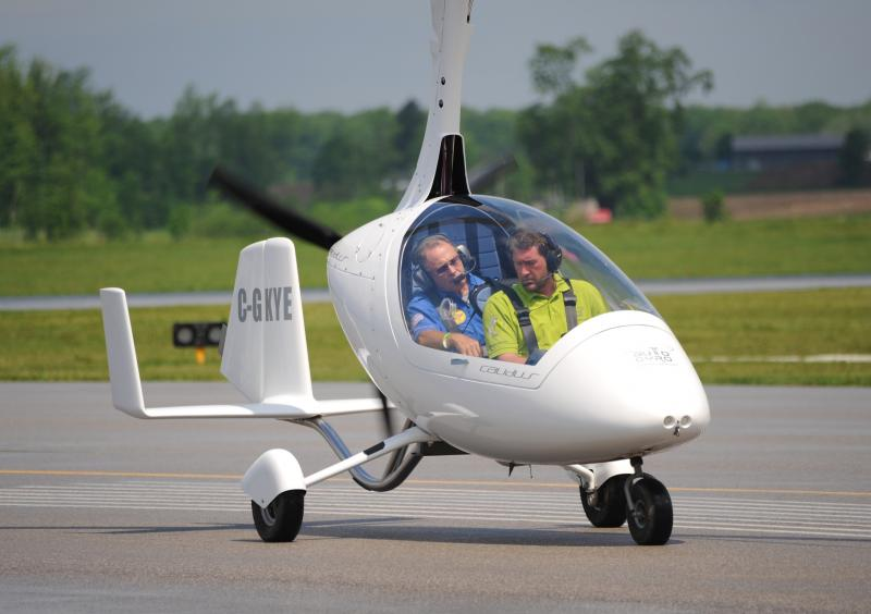 Gyrokopter fliegen
